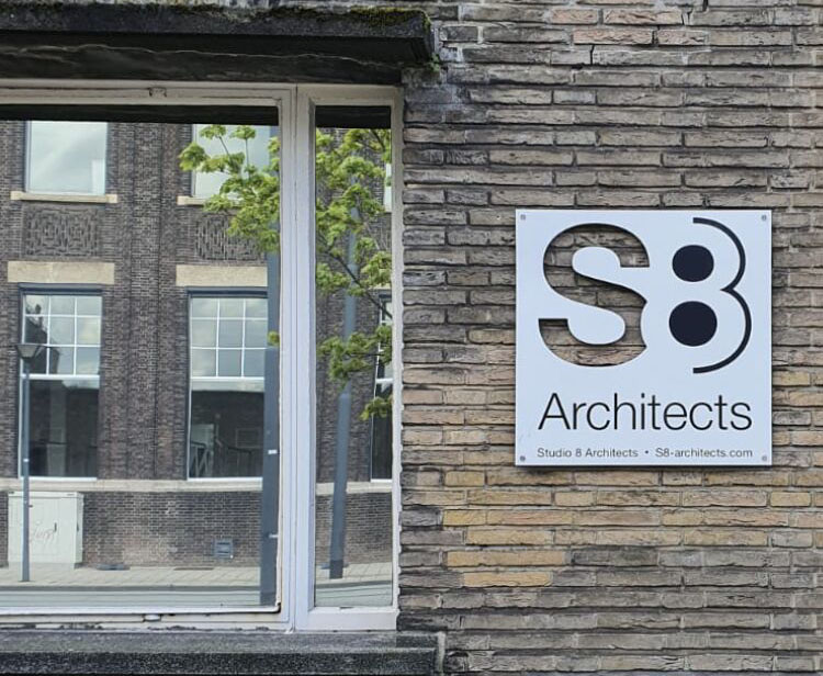 New Logo S8 Architects in the Netherlands!
