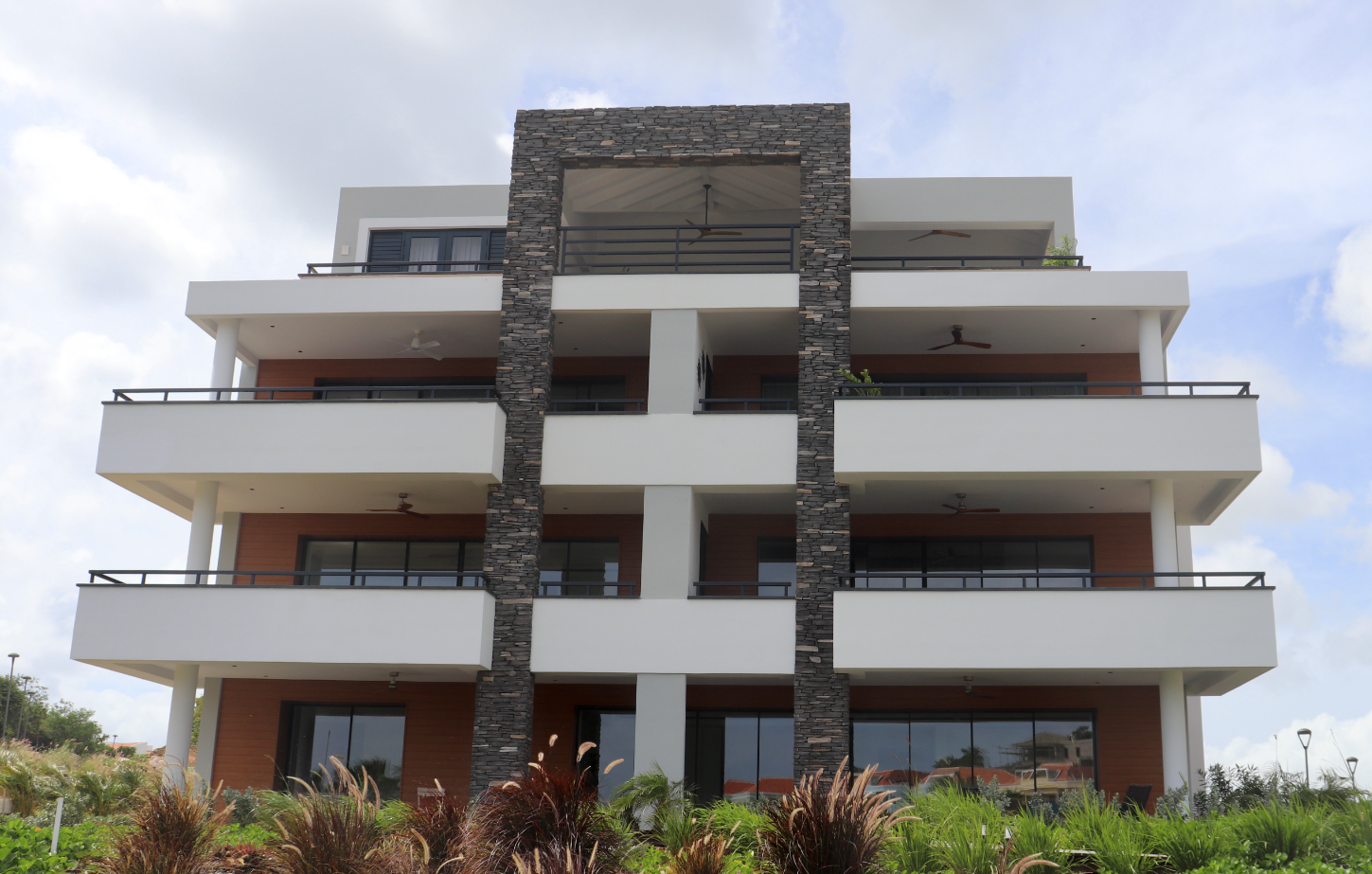 The Shore Apartments in Curacao are almost finished